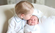 See Latest Pics, Images of Royal Family Kids Prince George with his Sister Princess Charlotte. Get Prince George and Princess Charlotte together Pics Photos