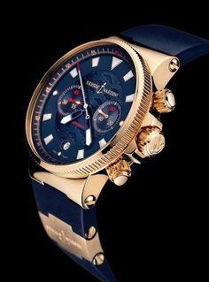 Ulysse Nardin Blue Seal Maxi Marine Chronograph www.majordor.com
