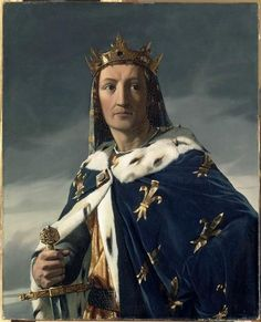 """King Louis VIII """"the Lion"""" of France. (5 September 1187- 8 November 1226) My 26th great grandfather. He was the son of King Philip II of France and Isabelle of Hainaut. He was married to Blanche of Castile and father to St. Louis XI King of France."""