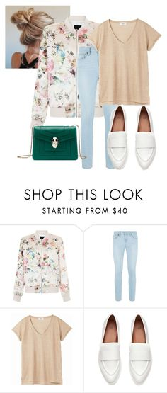 """""""Spring #1"""" by dyandrabnzvrt on Polyvore featuring New Look, Paige Denim and Bulgari"""