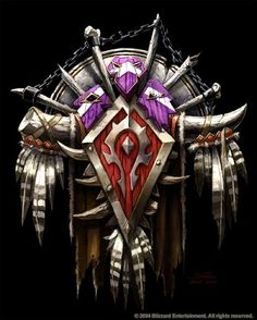 World of Warcraft Horde Symbol Here are some of the best World of Warcraft Horde pics I could find online.