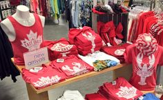 Get your red!! Canada Day is coming!! Lots available in Pseudio locations & our Halifax flagship store! #CanadaDay