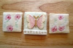 Butterfly gift cookies in a tin pink by NilaHolden on Etsy, £15.00