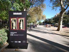 Grupo SPI instala totems en el Paseo del Prado Imprescindible