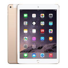 Apple iPad Air Wi-Fi + Cellular 16GB Gold MH2W2LL/A. http://www.portableone.com/Apple-iPad-Air-2-WiFi-Cellular-MH2W2LL