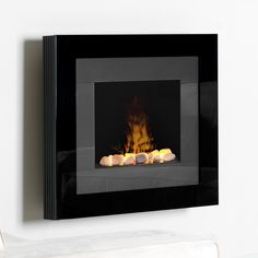 Fireplace ordered - all black model (no grey) Dimplex Redway OptiMyst Wall Mount Electric Fireplace - Hanging Fireplace, Fireplace Doors, Fireplace Heater, Wall Mount Electric Fireplace, Electric Fireplaces, Modern Fireplace, Rock Bed, Colorful Tapestry, Fireplace Pictures