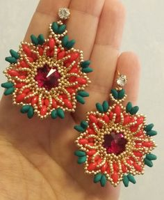 Orecchini Stella Di Natale (DIY - Christmas Star Earrings)