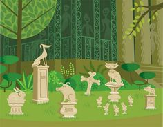 Haunted Mansion - SHAG  Love the pet cemetery