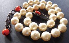 Vintage CHANEL necklaceBaroque pearl CHANEL by VintageParisLuxe