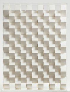 Platonic solids by paper artist Benja Harney