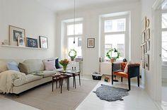 Современный стиль жизни в шведской квартире