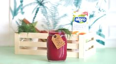 smoothie rhubarbe betterave alpro