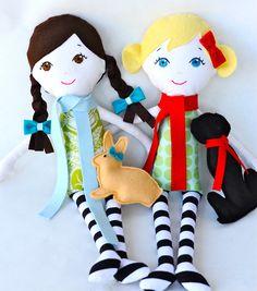 "Custom Handmade Cloth Doll Heirloom ""Gigi Like Me"" Doll."