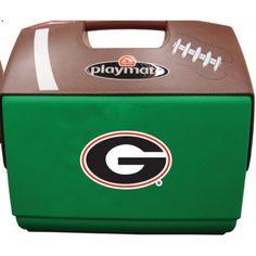 University of Georgia Bulldogs Playmate Football Cooler