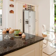 White and granite worktop kitchen | Kitchen decorating | housetohome.co.uk