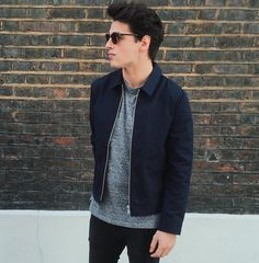 Blake Steven, Ball Jointed Dolls, Pretty Boys, Race Cars, Bomber Jacket, Handsome, Mens Fashion, Guys, Casual