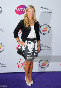 Angelique Kerber attend the annual WTA Pre-Wimbledon Party presented by Dubai Duty Free at The Roof Gardens, Kensington on June 25, 2015 in London, England.