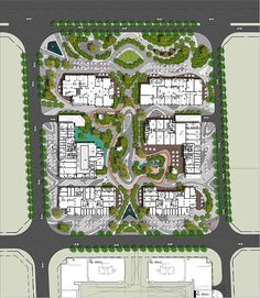 Landscape Concept, Landscape Plans, Contemporary Landscape, Landscape Architecture, Landscape Design, Color Plan, Design Language, Master Plan, Urban Planning