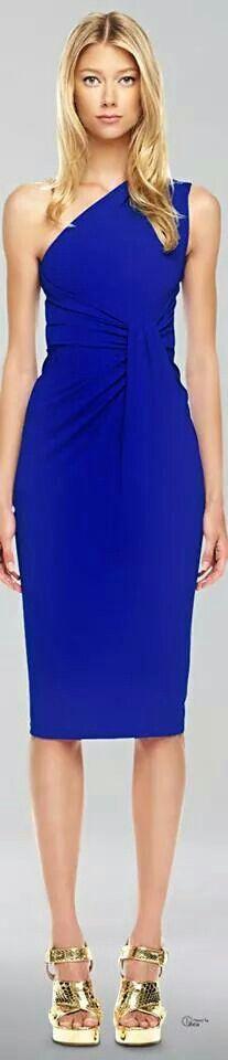 Michael Kors. .Sapphire dress