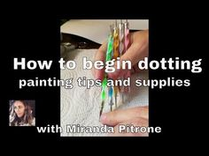 How to Paint Beginner Dot Mandala Painting ~ Dotting ~Supplies and basic tips ~ Mandala on CanvasThis is the basics of a mandala on canvas. Also I show how to fix a mistake :) Dot Painting Tools, Dot Art Painting, Mandala Painting, Painting Patterns, Painting Tips, Stone Painting, Rock Painting, Art Patterns, Pebble Painting