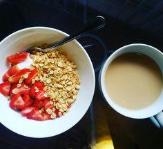 Food Art, Oatmeal, Breakfast, The Oatmeal, Morning Coffee, Rolled Oats, Morning Breakfast, Overnight Oatmeal