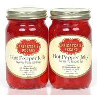Hot Pepper Jelly, 2-10 oz. Jars - http://mygourmetgifts.com/hot-pepper-jelly-2-10-oz-jars/