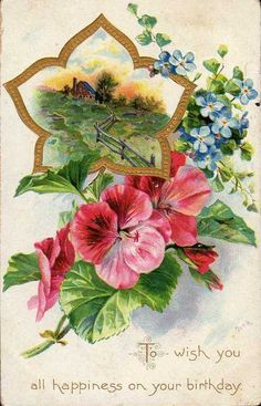 mycolorbook:  Vintage postcard