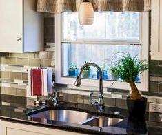 morriskitchennyc.com - Home inspiration Sink, Living Room, Table, Inspiration, Furniture, Home Decor, Long Window Curtains, Sink Tops, Biblical Inspiration