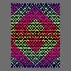 Cutting Corners IV-a (2015) - Dennis Smit. More on www.schmitzl.nl. #opart…