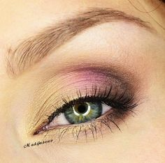 This simple and elegant look is perfect for day of night and adds the perfect amount of color for a great summer look. Idea Gallery Roundup: May 2013 | Makeup Geek