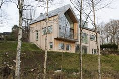Kjellgren Kaminsky Architecture, Villa Bondö, Gravsjön, Mölnlycke, Sweden