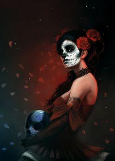 Dia De Los Muertos by giorgiobaroni.deviantart.com on @deviantART
