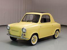 1960 #Vespa 400 Convertible #ClassicCar pinterest.com/quirkyrides/boards