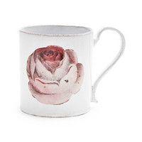 John Derian for Astier De Villatte Pink Rose Mug