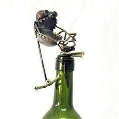 Chugger the Bugger Gnome Be Gone Wine Stopper