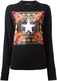 dbc3c7df6a8 Printed Sweatshirt - Lyst Givenchy Women