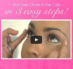 Kick dark circles to the curb with @Mally Beauty!