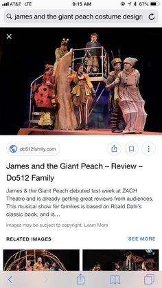 James And The Giant Peach Costume, James And Giant Peach, Costume Design, Apparel Design