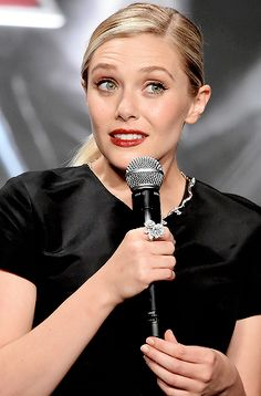 Elizabeth Olsen attends the premiere event for 'Avengers: Age of Ultron' at Roppongi Hills on June 23, 2015 in Tokyo, Japan.