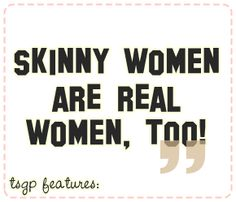 """Remember that no one should be judged just because of their weight."" I love this article, women should support each other, that's it!...Real women come in all sizes..."