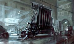 Dishonored Concept Art: Vehicle