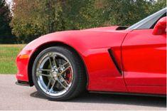 Performance Corvettes 2006-2013 Corvette C6 Z06 ZO6 LS7 7.0L Engine Covers Fuel Rail Red OEM GM