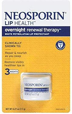 Shop the latest collection of Neosporin Lip Health Overnight Renewal Therapy, 5 Count from the most popular stores - all in one place. Upper Lip Hair Removal, Permanent Hair Removal Cream, Back Hair Removal, Electrolysis Hair Removal, Ingrown Hair Removal, Best Hair Removal Products, Hair Removal Machine, Unwanted Hair, Natural Skin Care