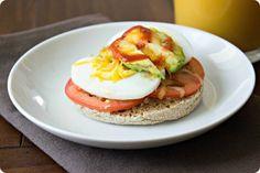 How to hard boil eggs: Breakfast Egg Melts at Ellaphant Eats