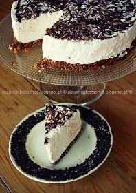 Sweet Life, No Bake Desserts, Vanilla Cake, Sweets, Food And Drink, Baking, Healthy, Ethnic Recipes, Semi Frio