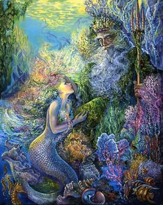 Mermaid, Josephine Wall