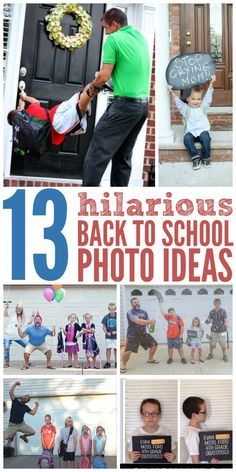 Better Pictures - Back to school doesnt have to me traumatic. Here are some fun ways to send your kids off to their first day of school, and capture wonderful memories in picture form. To anybody wanting to take better photographs today 1st Day Of School Pictures, School Photos, Picture Day School, Kindergarten Pictures, Kindergarten First Day, Preschool Pictures, Preschool Photo Ideas, Kindergarten Graduation, Funny Baby Photography