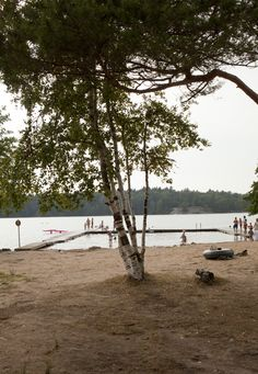 Sisjön beach, Gothenburg, Sweden