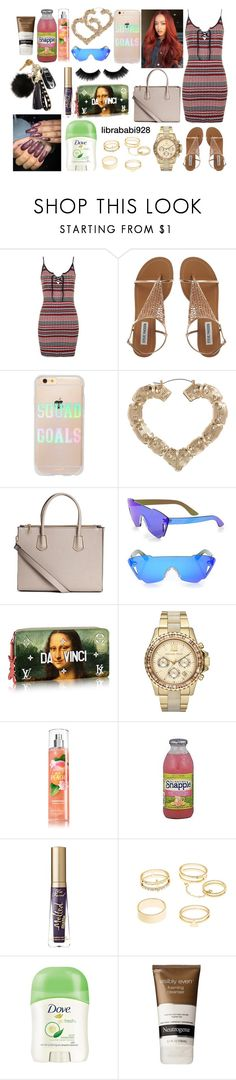 """""""Untitled #744"""" by librababi928 on Polyvore featuring Topshop, Sonix, ASOS, Kyme, Michael Kors, FRUIT, Too Faced Cosmetics, Charlotte Russe, Dove and Neutrogena"""