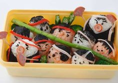 Bento Box Recipes | Field Day Rice ball Bento Box Recipe